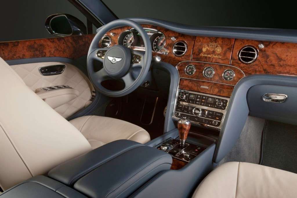 Bentley Mulsanne Diamond Jubilee Edition plancia