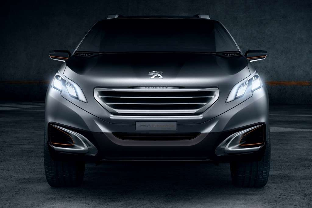 Peugeot Urban Crossover - frontale