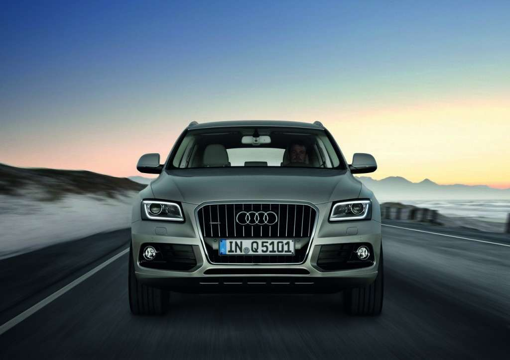 Audi Q5 MY 2013 restyling frontale