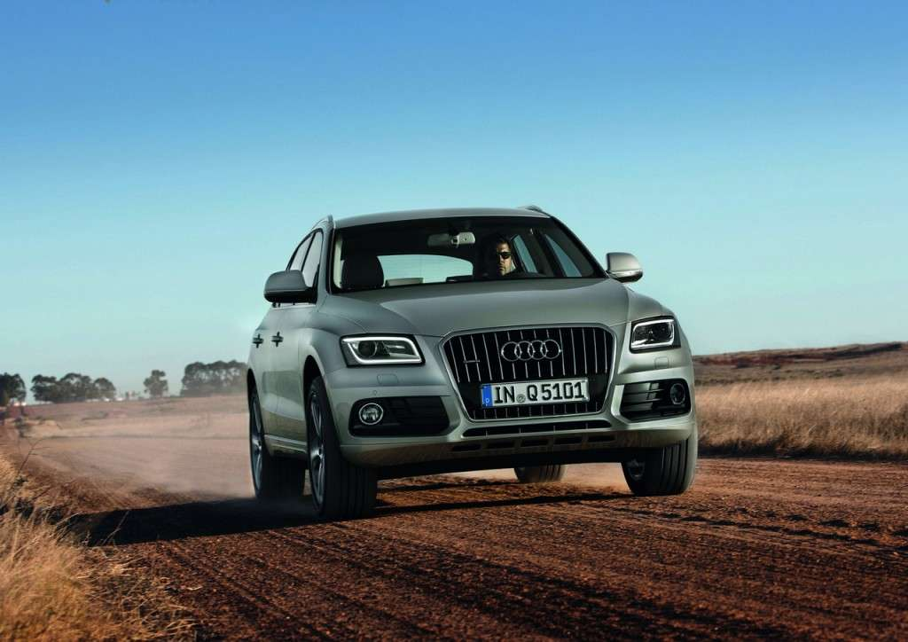 Audi Q5 MY 2013 restyling grigia frontale