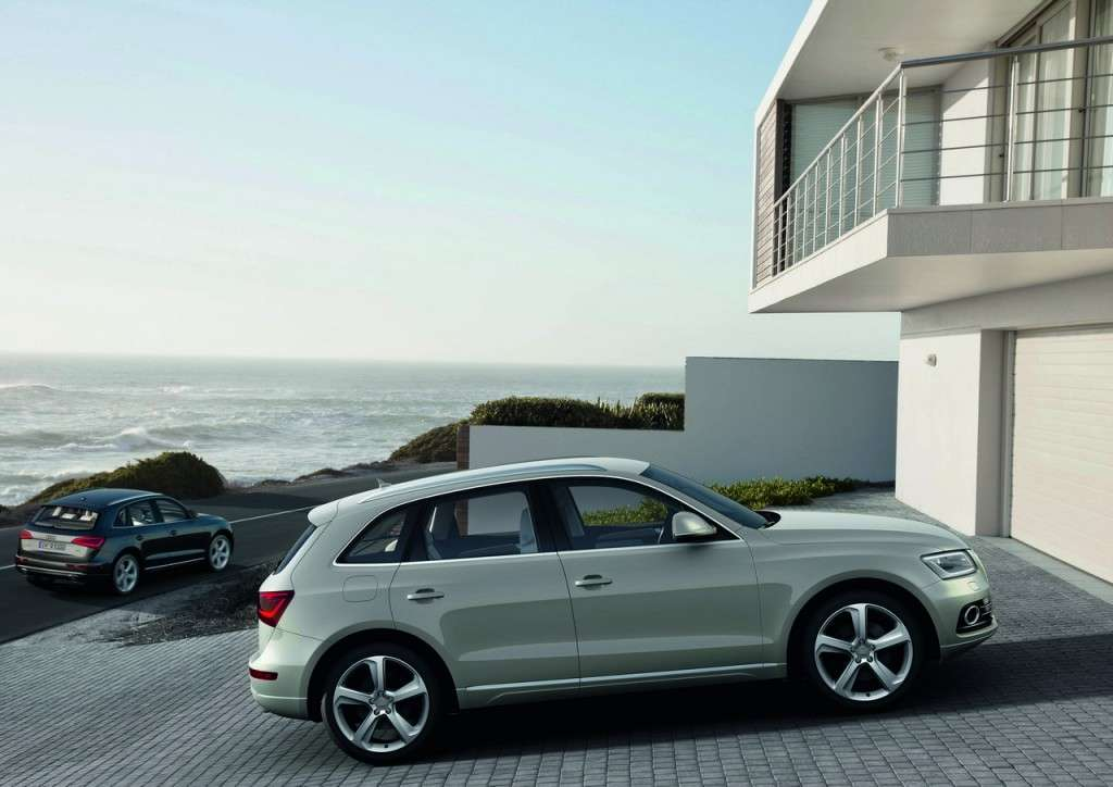 Audi Q5 MY 2013 restyling laterale