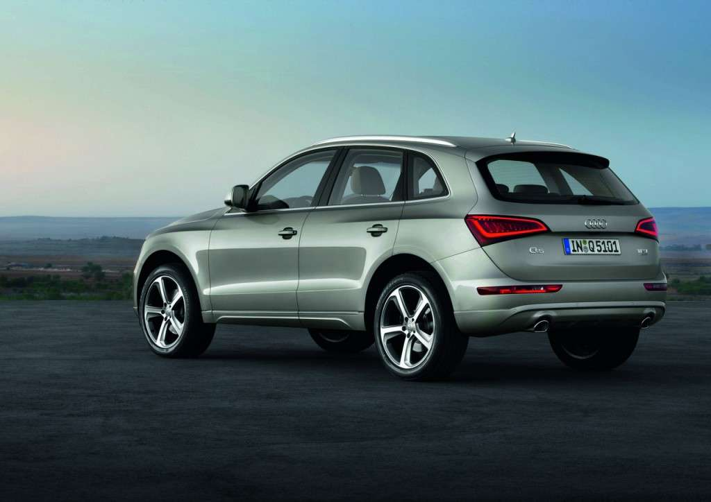 Audi Q5 MY 2013 restyling posteriore