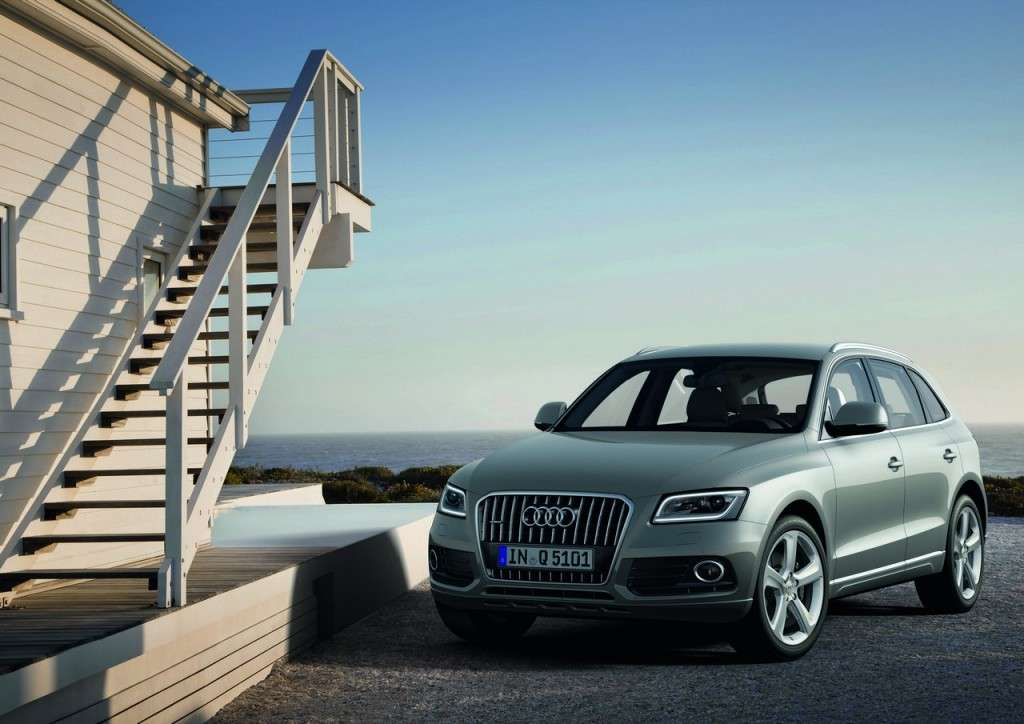 Audi Q5 MY 2013 restyling vista frontale