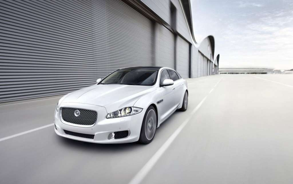 Jaguar XJ Ultimate - frontale