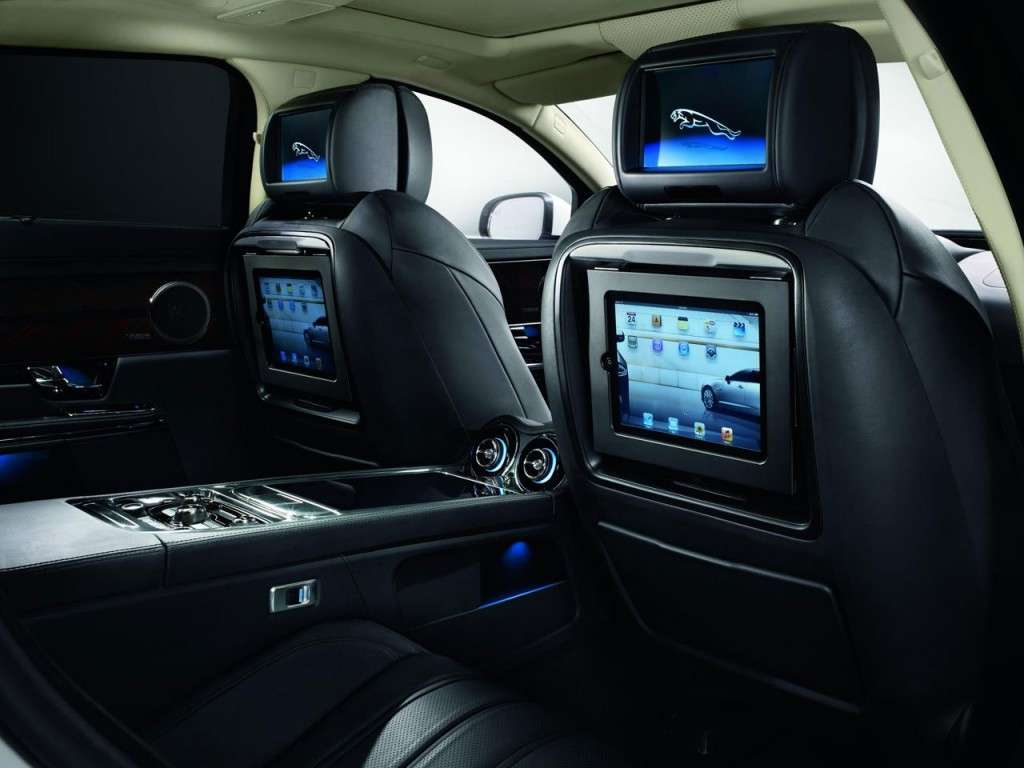 Jaguar XJ Ultimate - intrattenimento