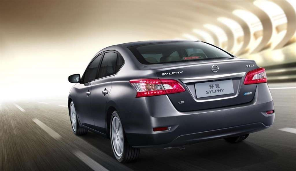 Nissan Sylphy Concept - posteriore