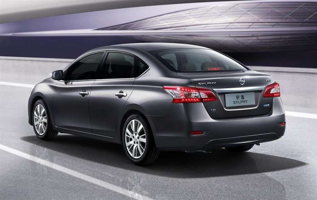 Nissan Sylphy Concept - posteriore (2)