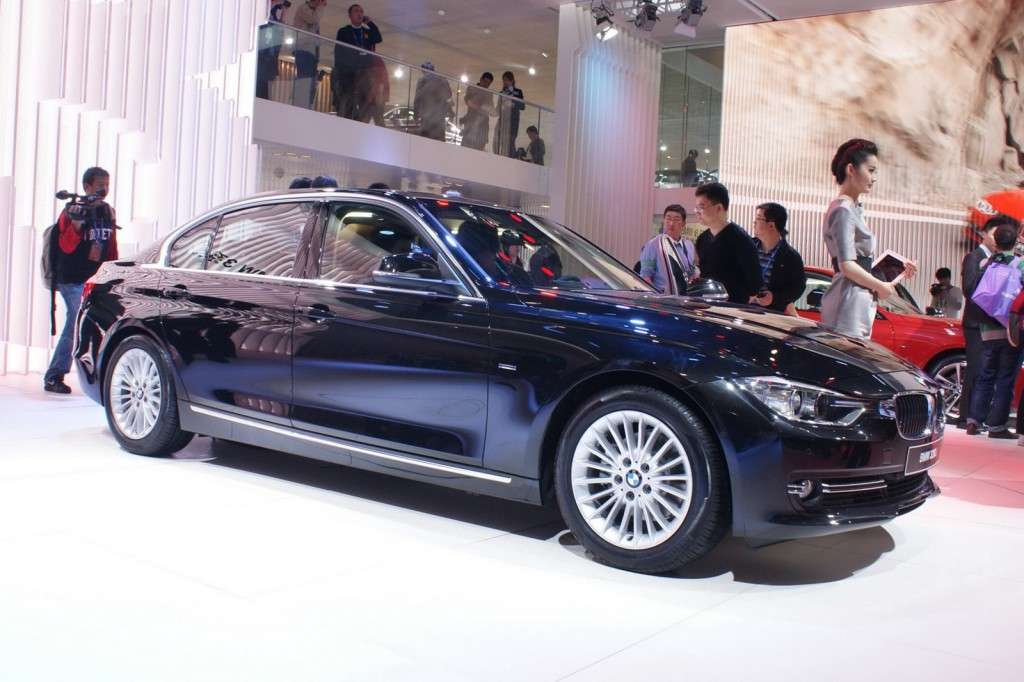 BMW Serie 3 frontale