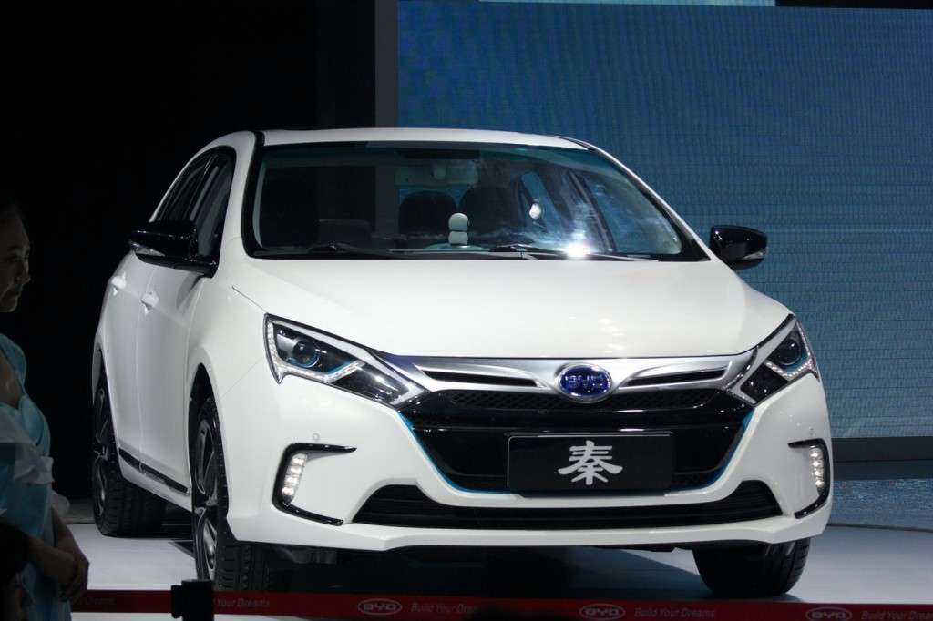 BYD Qin frontale