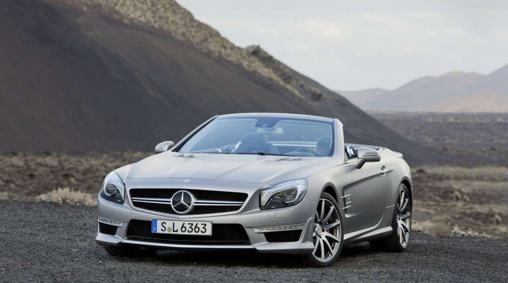 Mercedes SL 63 AMG frontale