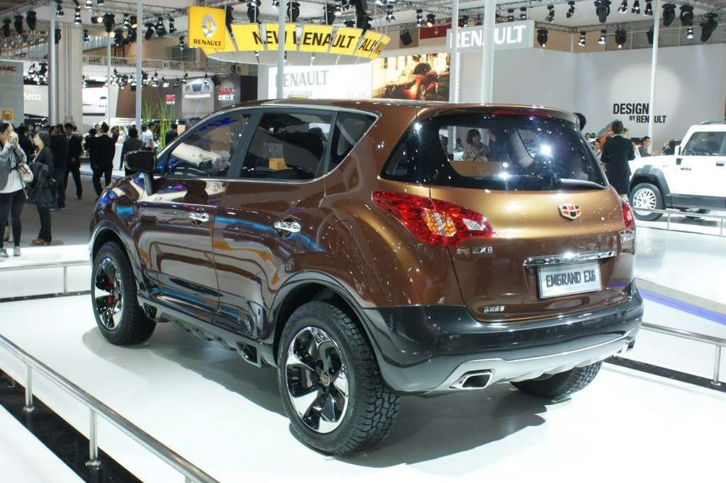 Geely Emgrand EX6 posteriore
