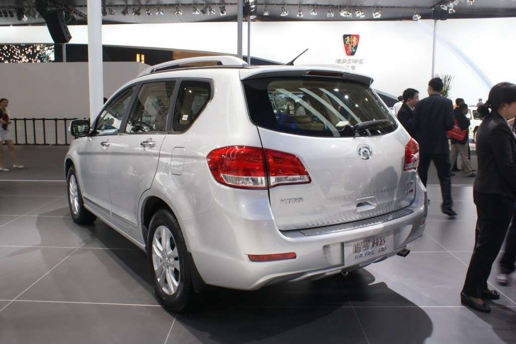 Great Wall Haval H6 posteriore