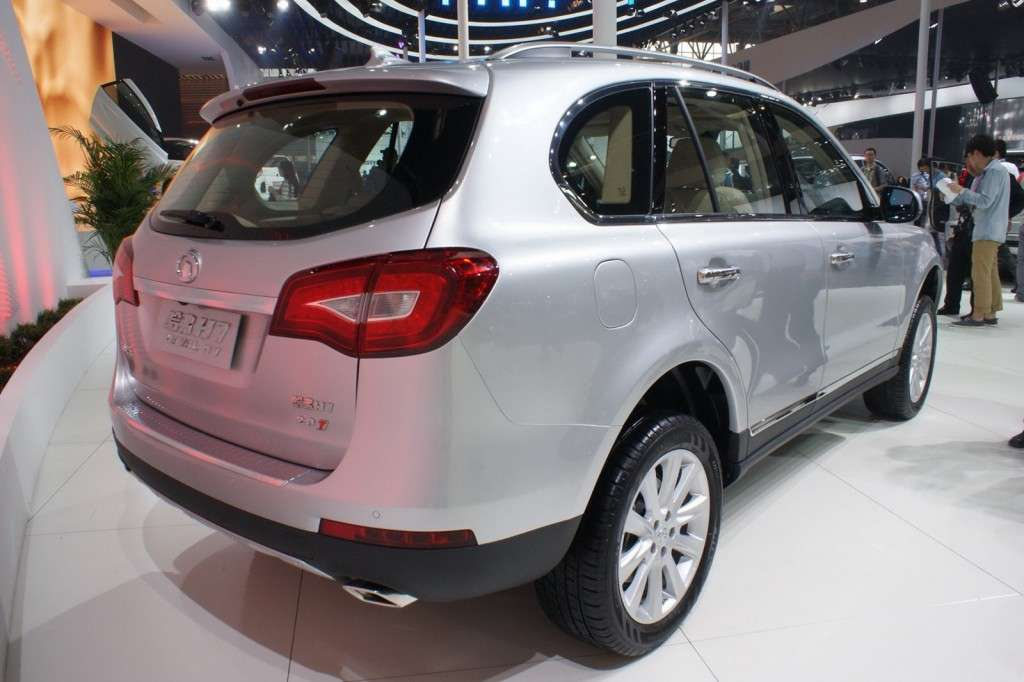Great Wall Haval H7 posteriore