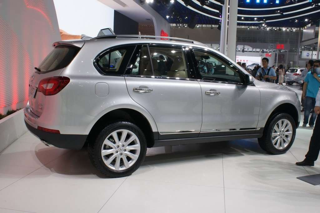 Great Wall Haval H7 vista laterale