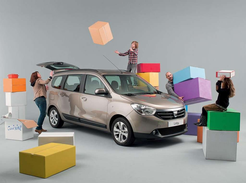 Dacia Lodgy frontale