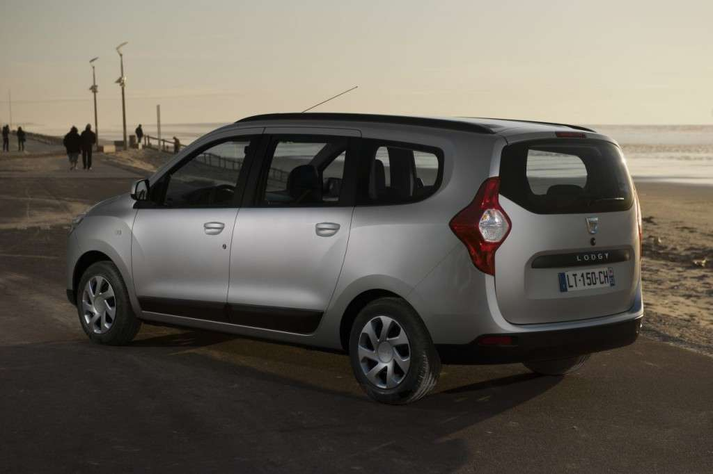 Dacia Lodgy vista laterale
