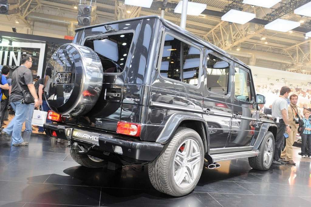 Mercedes G63 AMG posteriore