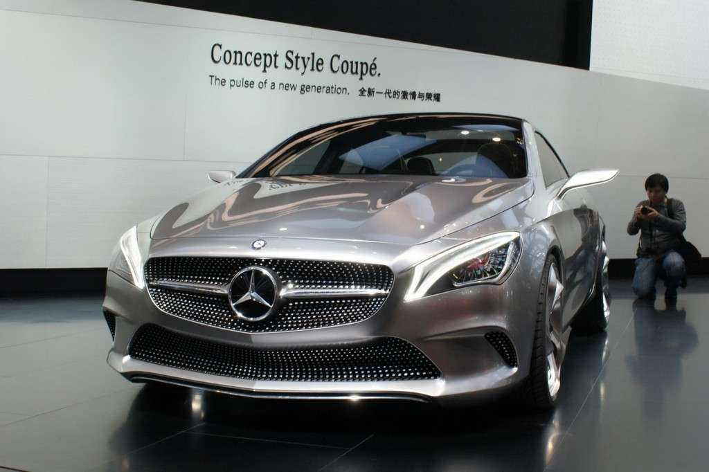 Mercedes-Benz Concept Style Coupe frontale