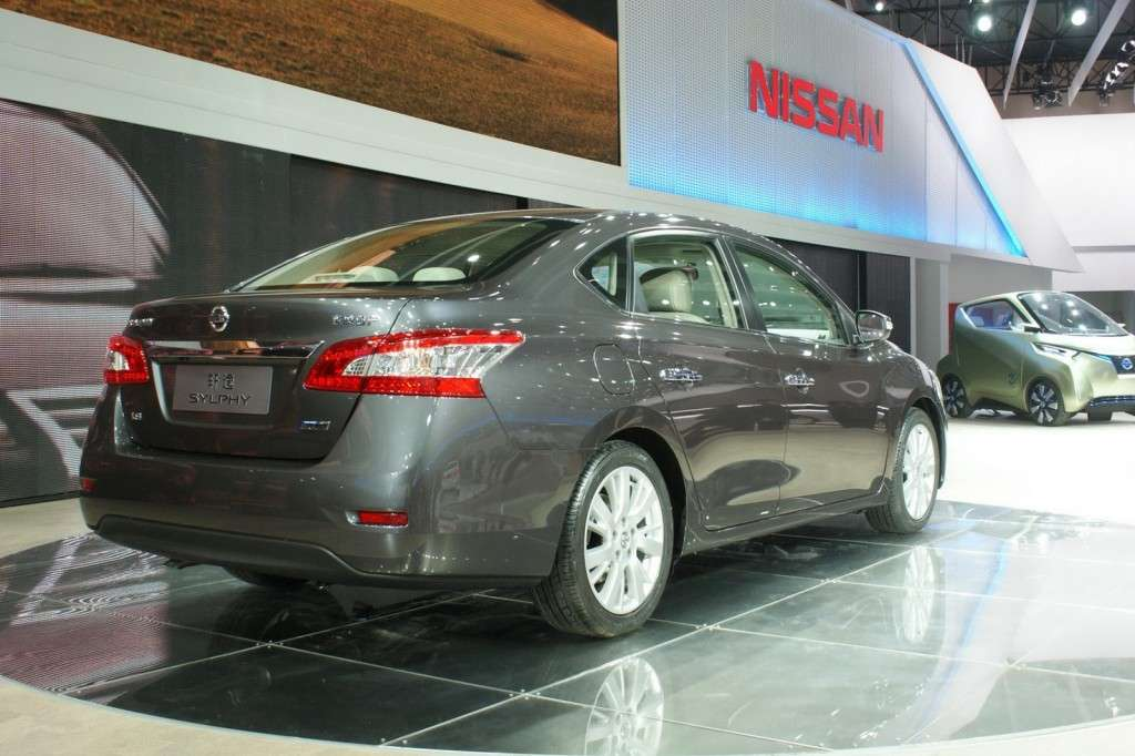 Nissan Sylphy posteriore