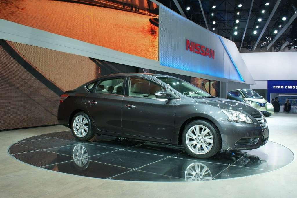 Nissan Sylphy vista laterale