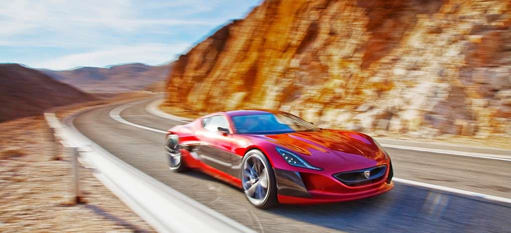 Rimac Concept One - frontale (2)