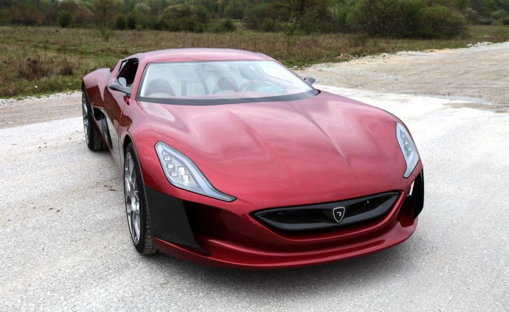 Rimac Concept One - frontale (3)