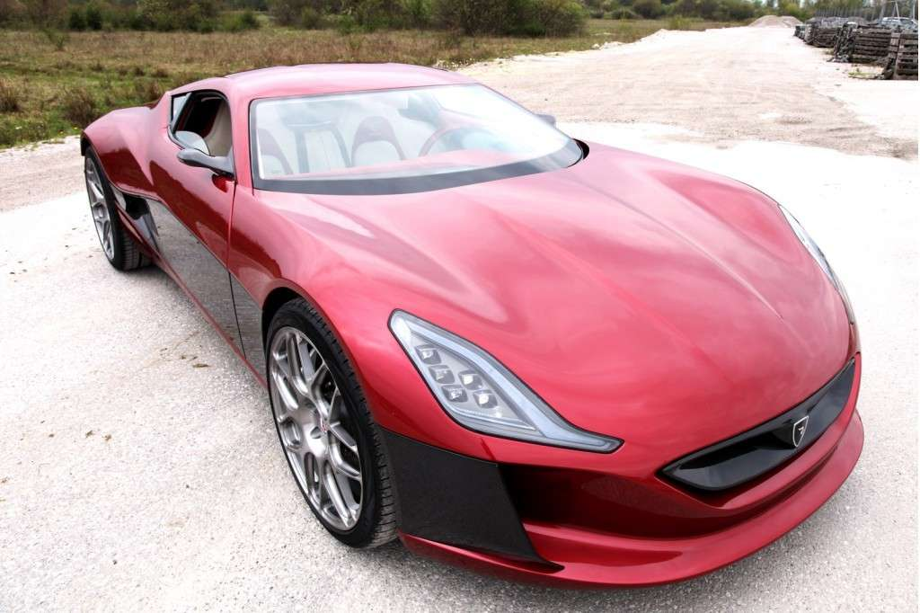 Rimac Concept One - frontale (4)