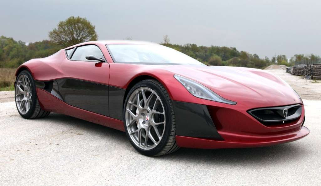 Rimac Concept One - frontale basso