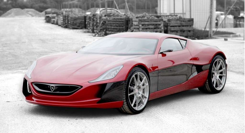 Rimac Concept One - frontale (5)