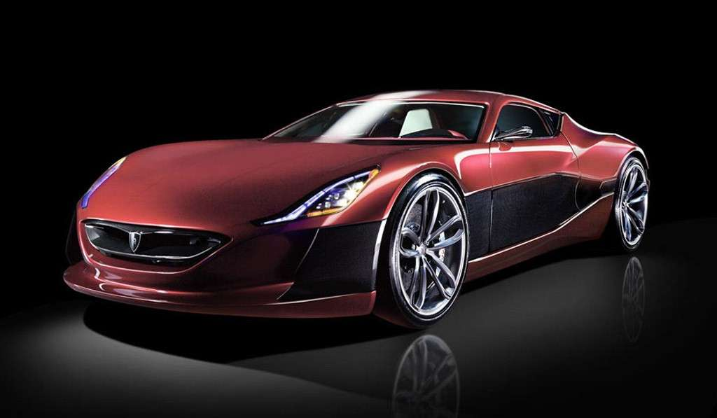 Rimac Concept One - frontale basso (2)