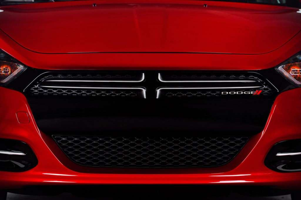 Dodge Dart mascherina