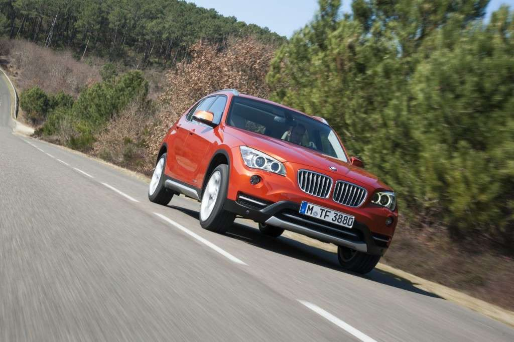 BMW X1 restyling - frontale