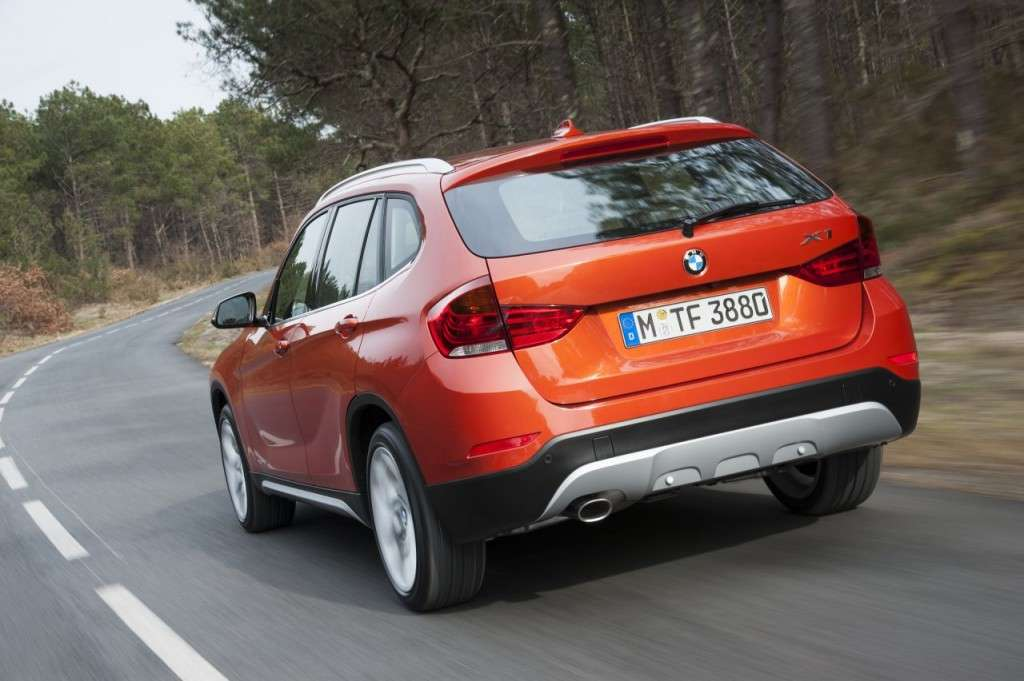 BMW X1 restyling - posteriore