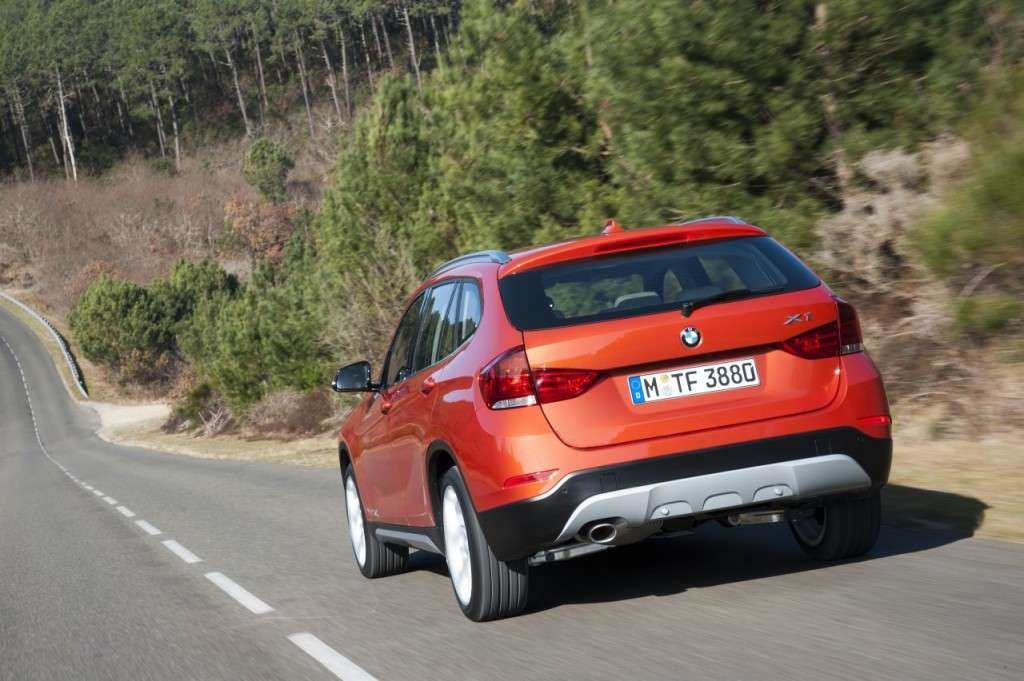 BMW X1 restyling - posteriore (2)