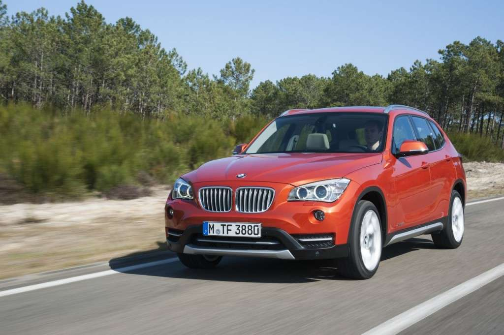 BMW X1 restyling - frontale (2)
