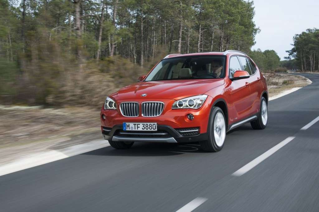 BMW X1 restyling - frontale (3)