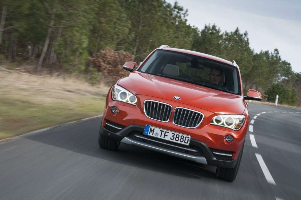BMW X1 restyling - frontale (4)