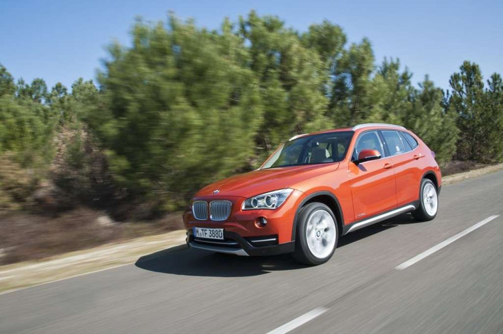 BMW X1 restyling - laterale