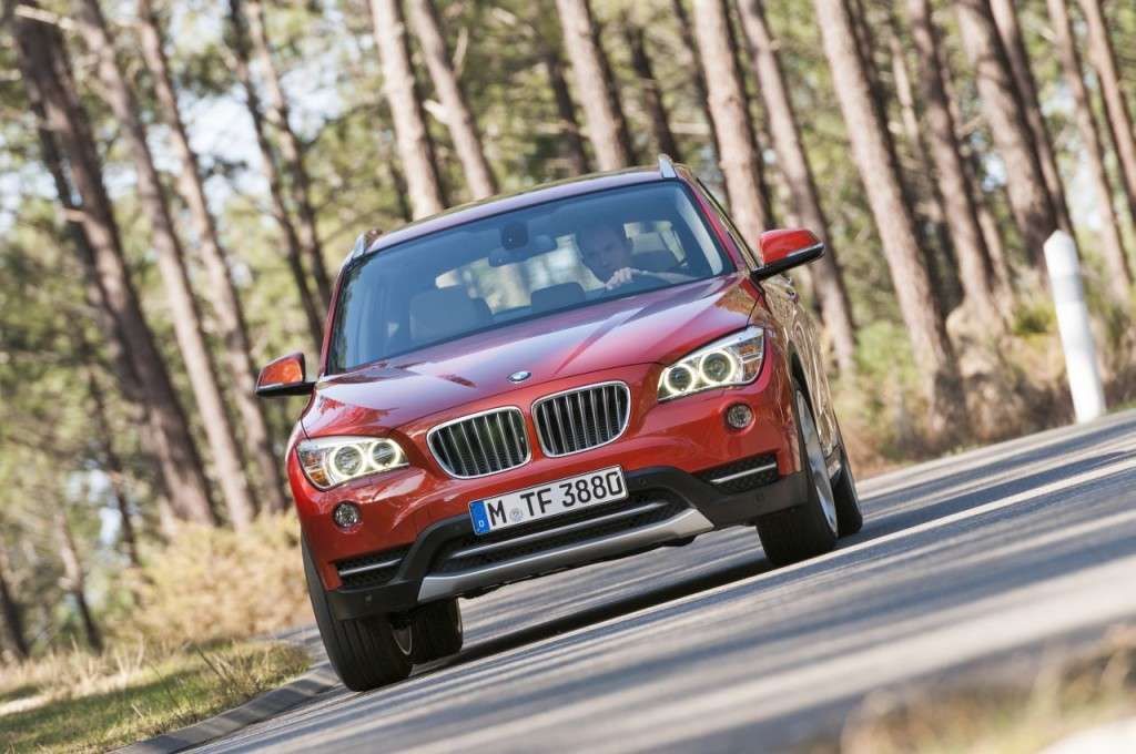 BMW X1 restyling - frontale (5)