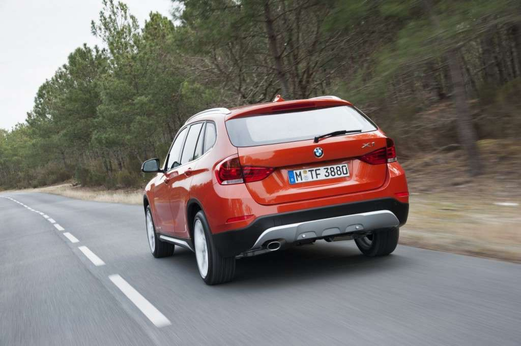 BMW X1 restyling - posteriore (3)