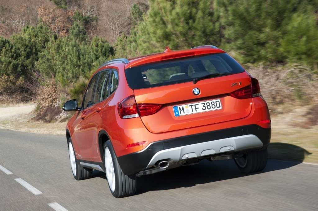 BMW X1 restyling - posteriore (4)