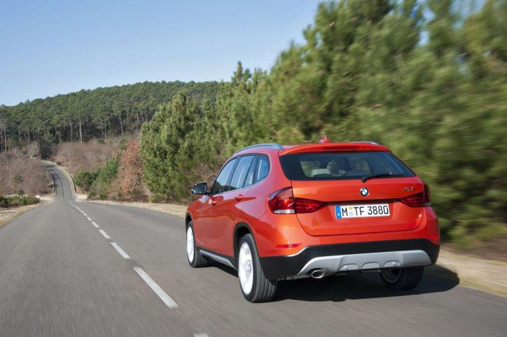BMW X1 restyling - posteriore (5)