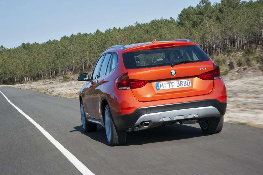 BMW X1 restyling - posteriore (6)