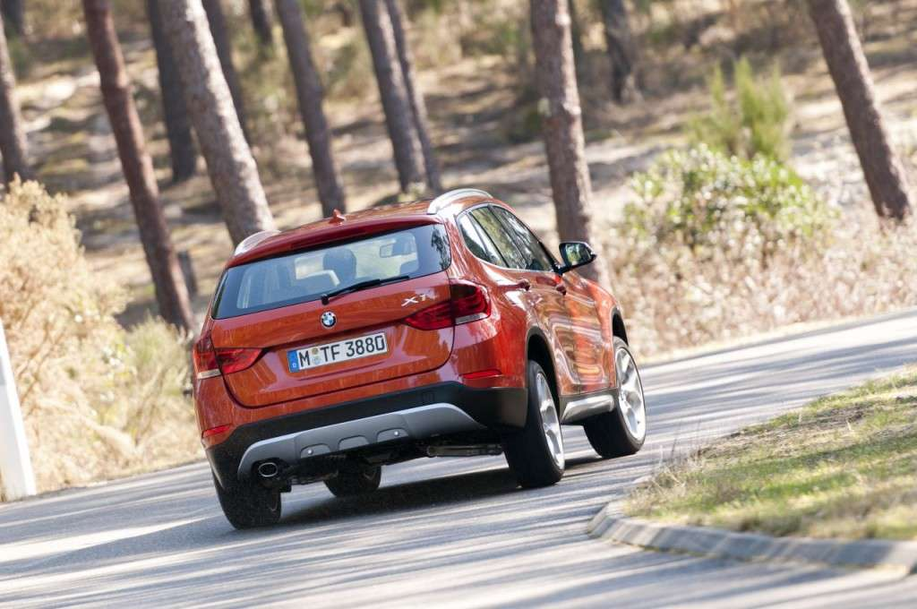 BMW X1 restyling - posteriore (7)