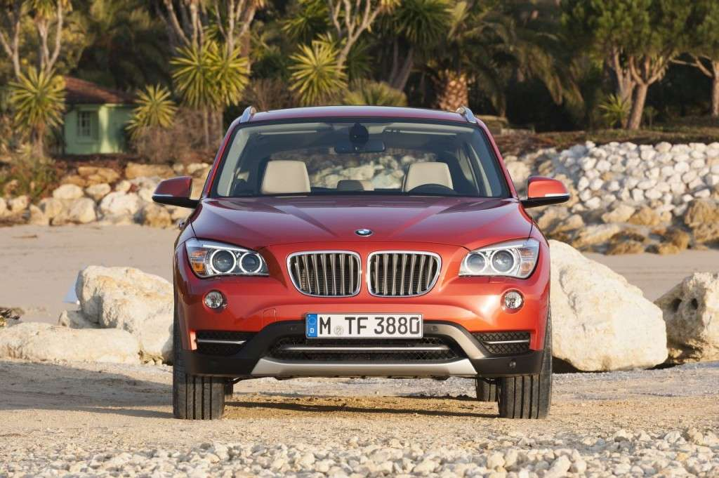 BMW X1 restyling - frontale (6)