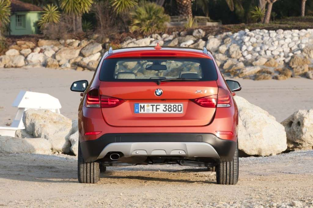 BMW X1 restyling - posteriore (8)