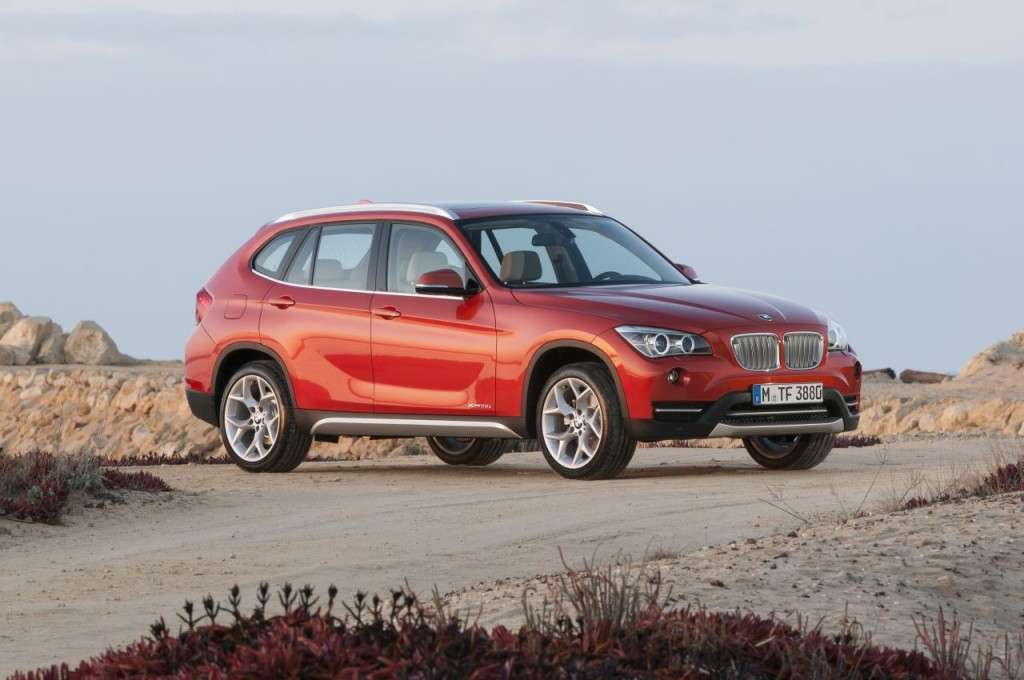 BMW X1 restyling - laterale (3)