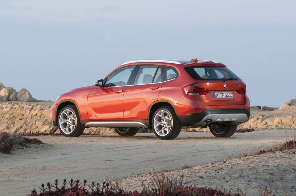 BMW X1 restyling - laterale (4)