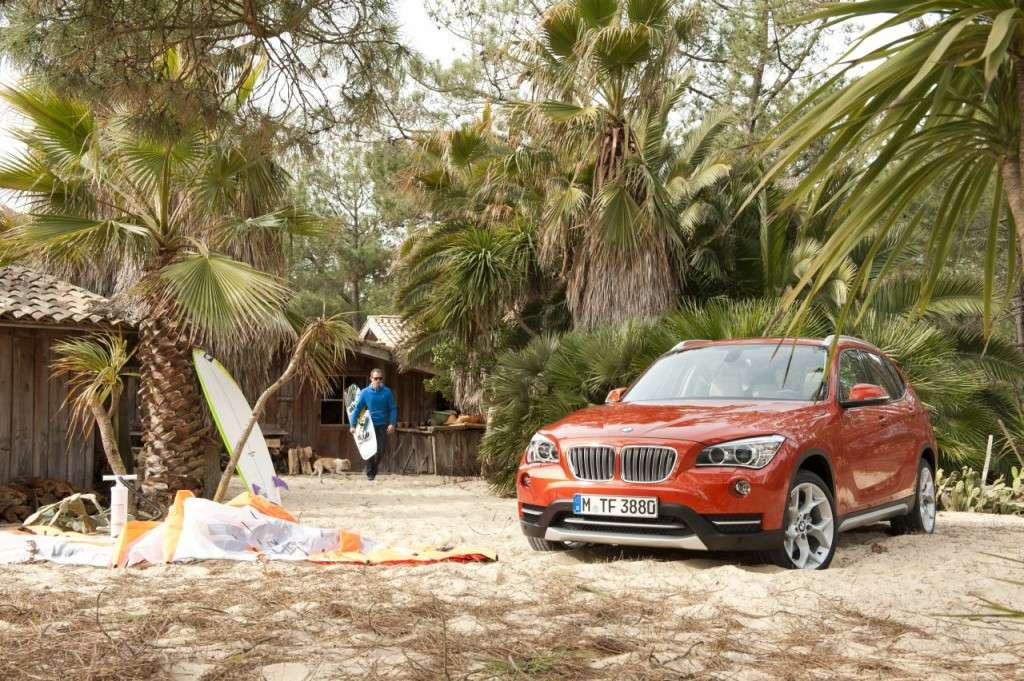 BMW X1 restyling - frontale (7)