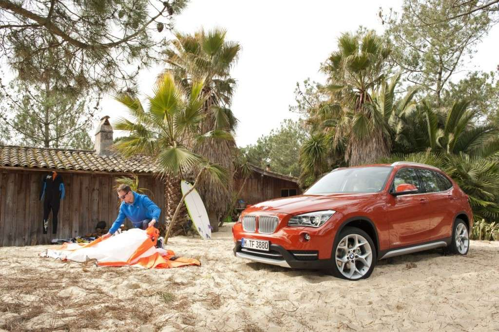 BMW X1 restyling - frontale (8)